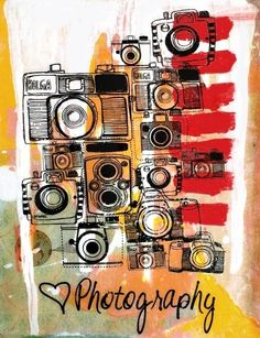 Photography love photography colorful vintage art pictures cameras