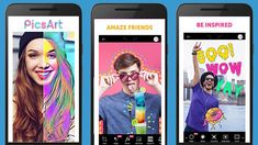 PicsArt Photo Studio Collage Maker & Pic Editor for Android Photo And Video Editor, Photo Editor, Best Photo Collage Apps, Most Popular Image, Pix Art, Create Collage, Face Swaps, Image Editor, Collage Maker
