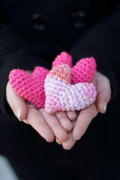Cat/Small Dog Toy Puffy Valentine's Day by LittleWorksOfGrace, $3.50