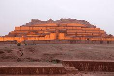 Chogha Zanbil Ziggurat Iran 이란 및 유적