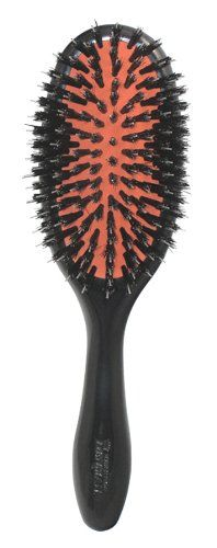 $19.30-$20.28 8 row, natural bristle cushion brush. Ideal for medium to thick hair.