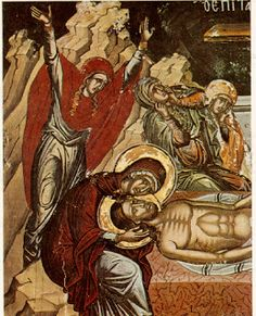 Christ being taken off the cross Joseph Of Arimathea, Holy Saturday, Hd Wallpapers 1080p, Byzantine Art, Virtual Museum, Orthodox Christianity, Last Supper, Orthodox Icons, Medieval Art