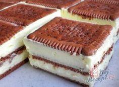 Bolo de fatias de creme de baunilha e biscoito de manteiga - Bolo de biscoito de manteiga / bolo de biscoito - Backen&Torten - Cupcake Recipes, Snack Recipes, Snacks, Bread Recipes, Banana Recipes, Ice Cream Recipes, Biscuit Cake, Pumpkin Spice Cupcakes, Peanut Butter Banana