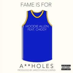 As promised, Hoodie Allen let loose another song titled 'Fame Is For Assholes' (abbreviated FIFA) premiered on YouTube on February 18 recently. It features Chiddy Bang and was produced by !llmind and Jared Evan. The song is the second single off his upcoming new mixtape Crew Cuts which will be released online for free on February 20, 2013.