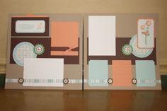 6x6 scrapbook, scrapbook inspir, dream 12x12, scrapbook layout, scrapbook pages, scrapbook sketch