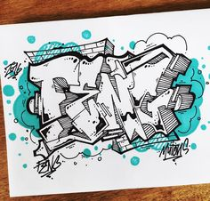 Graffiti BlackBook : Drawing BlackBook 3D Graffiti Alphabet Letter With Blue Background How If Draw In Graffiti Alphabet Letter Street Art Drawing 3D Graffiti Letter in Blue Background