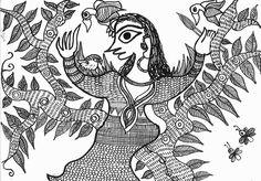 Madhubani art by me.