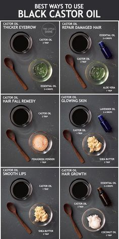 Castor oil is one of the popular oils due to its hair growth properties. It is widely used in beauty recipes and DIY remedies. Castor Oil For Hair Growth, Hair Mask For Growth, Hair Growth Tips, Natural Hair Growth, Natural Hair Styles, Castor Oil For Face, Aloe Vera Gel For Hair Growth, Hair Growth Mask Diy, Castor Oil Uses