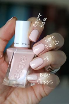 Essie Gel Couture Ballet Nudes : Swatches, Review & Comparisons | Essie Envy
