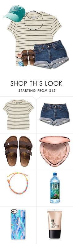 """""""shows over can't wait till more this summer!"""" by southernmermaid ❤ liked on Polyvore featuring Monki, Birkenstock, Pura Vida, Casetify and Charlotte Russe"""
