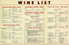 Resultado de imagen de ristorante menu