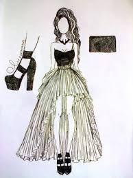 Картинки по запросу эскизы одежды простым карандашом