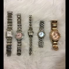 Fossil watch bundle (only first two available) Gorg Fossil Collection  Make me offers Fossil Accessories Watches