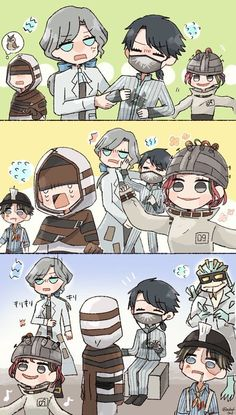Read 192 from the story Identity V (Phần 2 :)))) by Nekoswitch (OFF) with reads. V Chibi, V Games, V Cute, Identity Art, Fun Comics, Kawaii Cute, Funny Moments, The Magicians, Joseph
