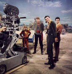 "On the set of ""Lost in Space"""