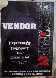 So excited to be apart of this event!! Especially cuz I get to meet Theory of A Deadman!!