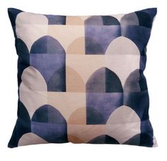 Viaduct Cushion Blue