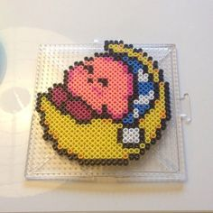 Kirby perler beads by smallbbybird