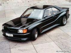 Mercedes Benz 560 SEC. VWVortex.com - Cool Wall - 80's Tuner Cars