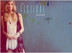 Free People Festival Lookbook - love the image processing on this!