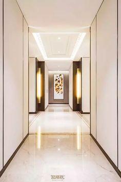 Hotel Hallway, Hotel Corridor, Floor Design, House Design, Resort Interior, Corridor Lighting, Corridor Design, Lobby Design, Space Interiors