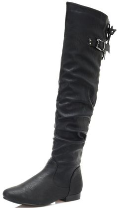 0a1bc6bf750e DREAM PAIRS Women s Fashion Casual Over The Knee Pull On Slouchy Boots      Very nice of your presence to drop by to view the image. Ankle Boots MenWide  Calf ...