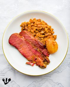 Freud and his Cholent: The Austrian Origins of the Jewish Bean Stew טשאָלנט Bean Stew, Jewish Recipes, Baked Beans, Tandoori Chicken, Origins, Lunch, Stuffed Peppers, Dishes, Kitchens