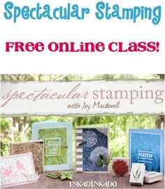 Spectacular Stamping Techniques! {FREE online class!}