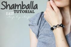 Make an Easy & Afforable Shamballa Bracelet With This Tutorial
