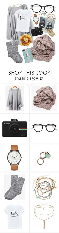 """Hanging with my girlies 🛍💕🌸"" by maris3456 ❤ liked on Polyvore featuring Polaroid, Tom Ford, Skagen, Express, Decree, Ettika, hanging, besties, girlies and waffle"