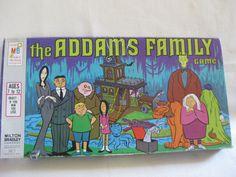 Inspiration.  Vintage The Addams Family Board Game by VintageByThePound on Etsy, $24.00