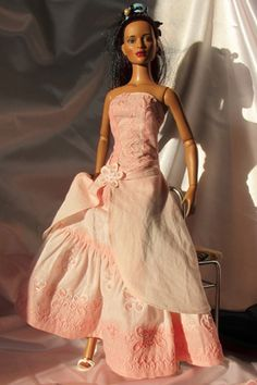 Patron robe de princesse Barbie