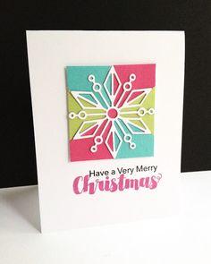 A Merry Christmas Snowflake