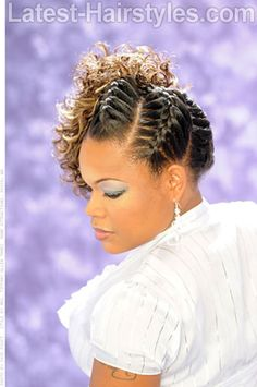 Fierce Braids Fancy Hairstyles 2