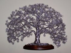 wire tree, art, sculpture, bonsai, tree images, wire tree art, fine wire sculpture, bonsai wire, how to make wire trees