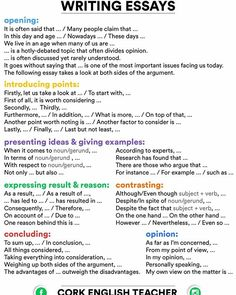 grammar rules for writing