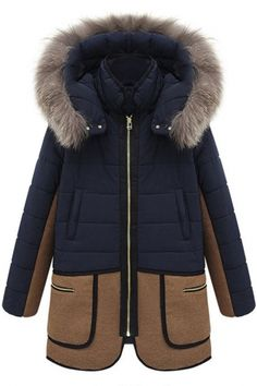 New Women Warm Winter Long Coat Fur Hooded Parka Thicken Overcoat Jacket Outwear Coats For Women, Jackets For Women, Parka Coat, Hooded Parka, Hooded Coats, Hooded Jacket, Wool Coat, Plus Size Coats, Style Casual