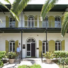 Ernest Hemingway Home - Tour the South's Best Historic Homes - Southern Living----- I had one of the best times of my life here!!