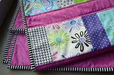 Simple Baby Quilt with a whole lotta style!