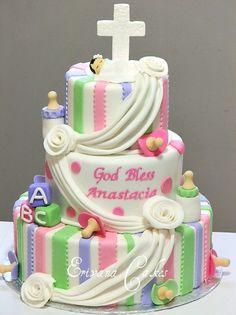 Baptism Cake 12