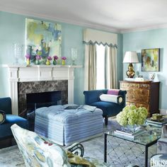 Best Living Room Color Palettes