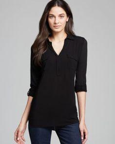 Splendid Shirt - Pocket Henley   Bloomingdale's