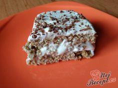 Fitness - Fitrecepty a fitness jídlo (str. Diabetic Recipes, Low Carb Recipes, 200 Calorie Meals, Czech Recipes, Tiramisu, Different Cakes, Healthy Sweets, Sweet And Salty, Something Sweet