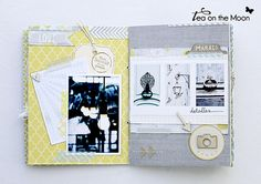mini album scrapbook Paris by Tea on the moon ♥ begoña ♥, via Flickr