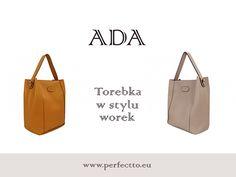 Wygodna, pojemna i świetnie wyglądająca. :) Oto Ada, torebka od Perfectto: http://www.perfectto.eu/ada-torebka-na-ramie-w-stylu-worek :) #duzatorebka, #worek