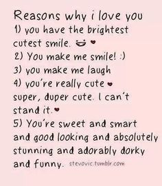Reasons Y I Love You Quotes : ... boy.. on Pinterest My Love Quotes, Crush Quotes and My Everything