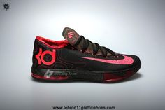 aa98853cf6e Buy Nike KD VI Black Atomic Red-Medium Olive-Fire Red 599424-006
