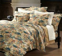 bradford toile duvet cover and sham Pottery Barn