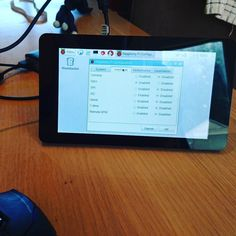 Setting up my new Raspberry Pi touch screen display by christiancawley