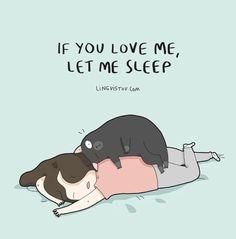 if you love me, let me sleep. #lingvistov